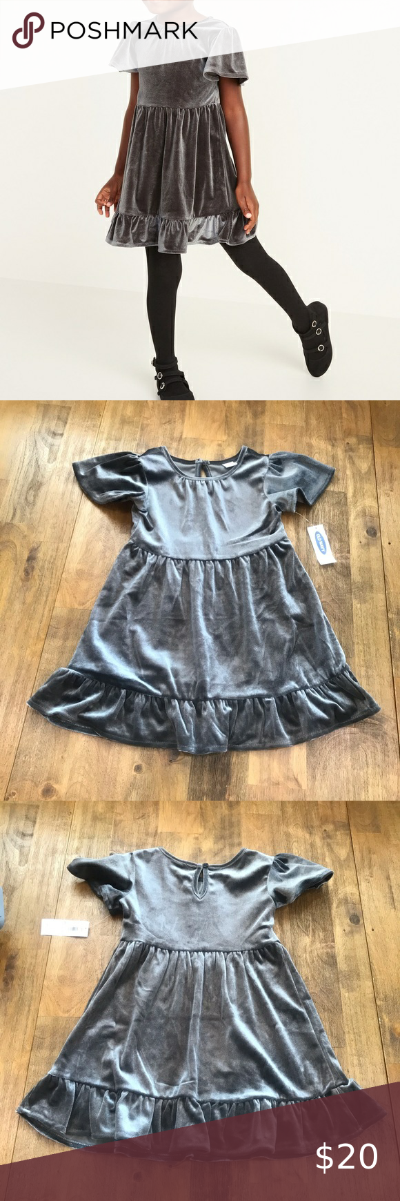 Velvet Fit Flare Dress For Toddler Girls Grey 2t Toddler Girl Dresses Toddler Dress Fit Flare Dress [ 1740 x 580 Pixel ]