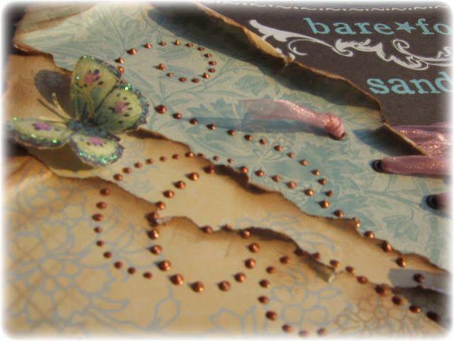 Making handmade Pearl Flourishes