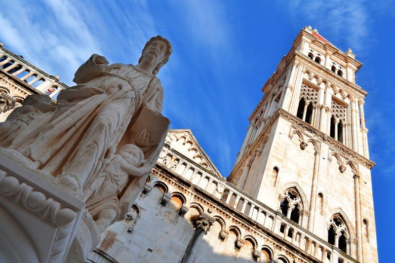 Visit Cathedral Of St Lawrence Trogir Cathedral Tourist Attraction Tourist