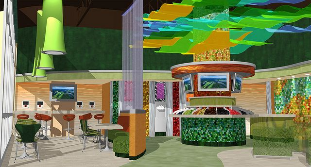 Conceptual Interior Design | 3D Decor Design | Store Interior Design |  Market Interior Rendering | Rio Market By I 5 Design U0026 Manufacture, V.