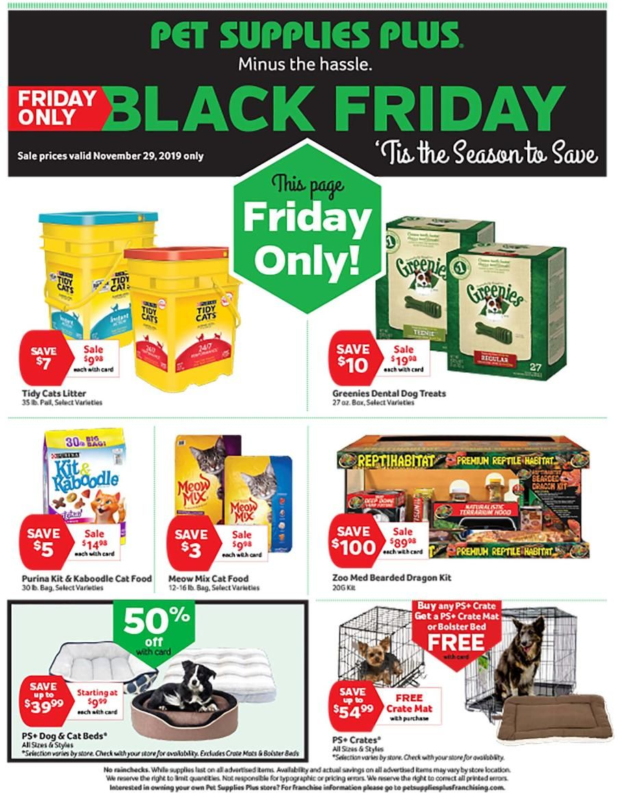 Pet Supplies Plus Black Friday Ad Scan Deals And Sales 2019