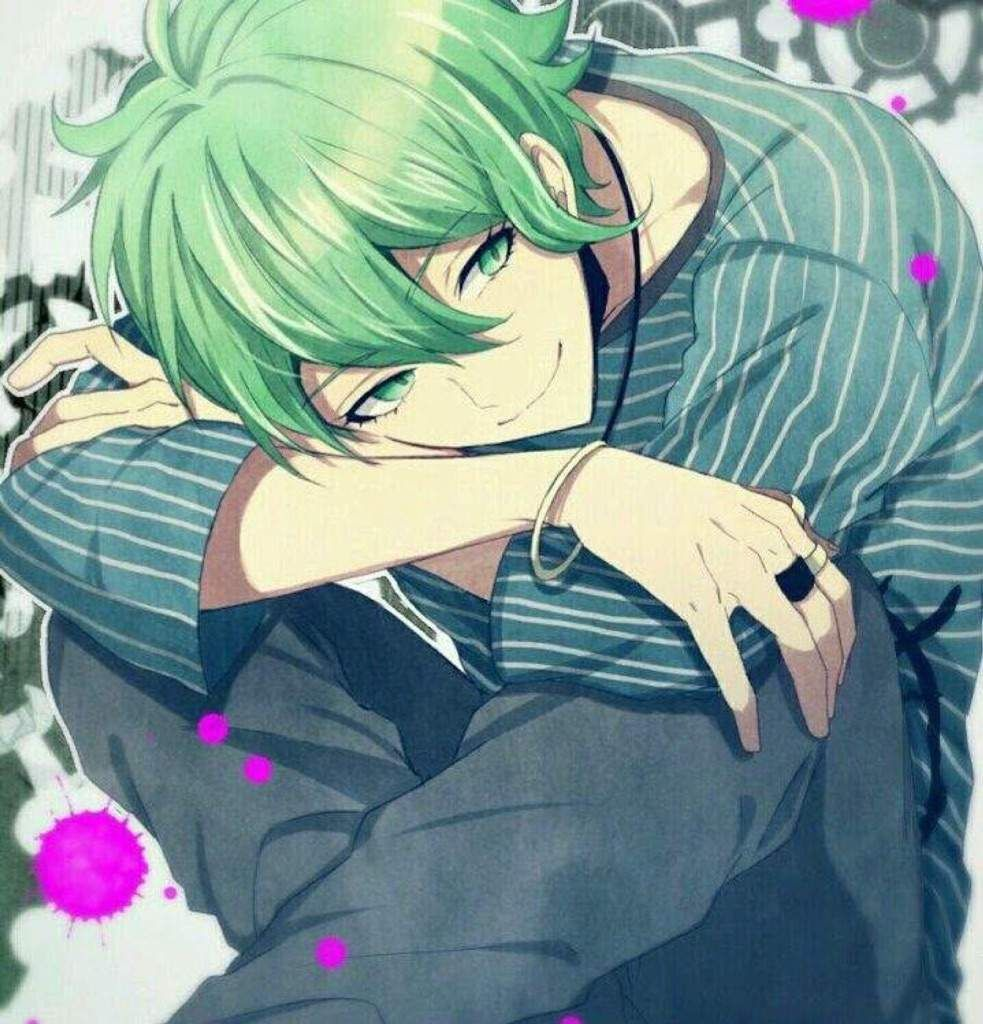 Image Result For Green Haired Anime Male Danganronpa Anime