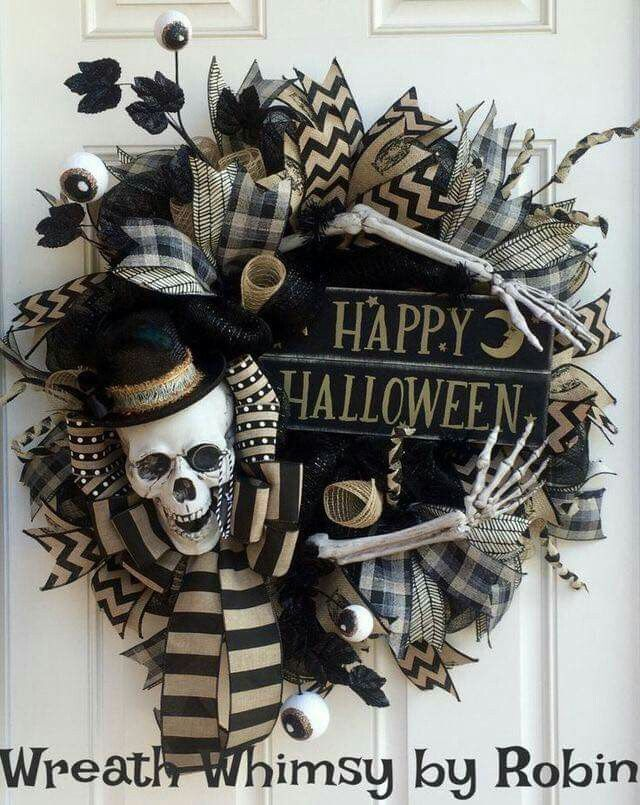 This is gonna be my Halloween door decoration!!! Halloween - my halloween decorations