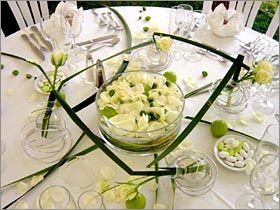 Des exemples de tables de mariage - Décoration mariage - Touslesmariages.com