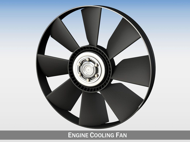 Engine Cooling Fan By Panaristi Engine Cooling Radiator Fan Wheel