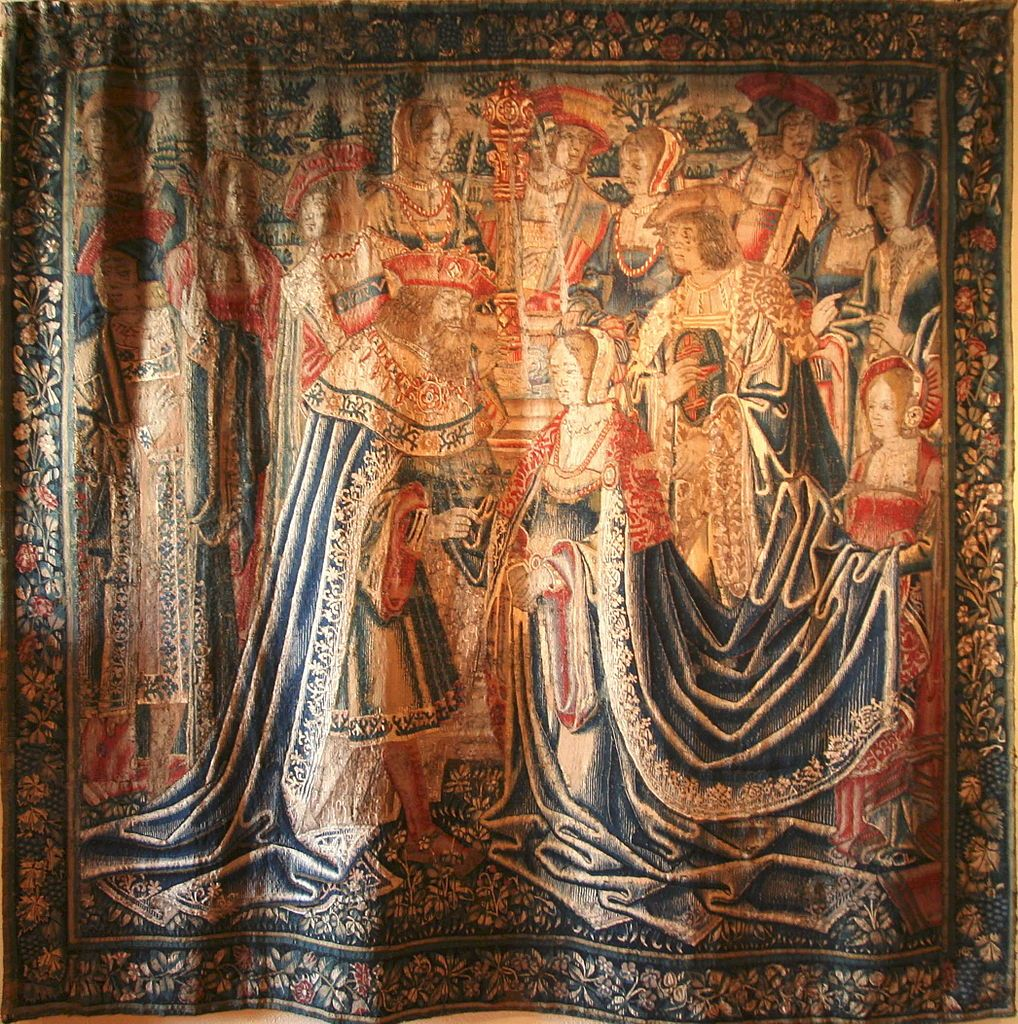Solomon And Sheba Tapestry Tapestry Solomon And Sheba Painting