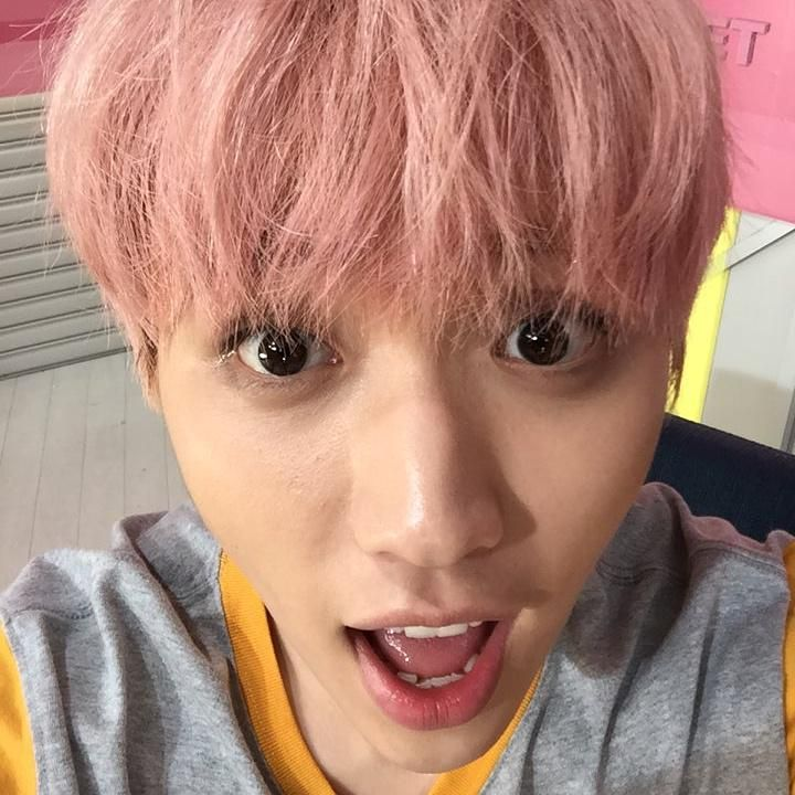 Sandeul's selfie at meet and greet