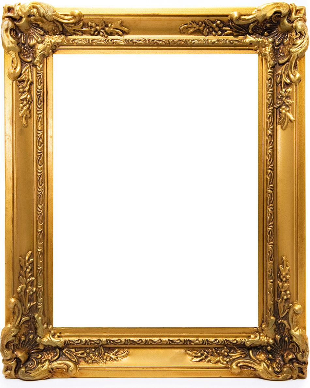 Gold Frame Picture Frame Template Frame Border Design Frame