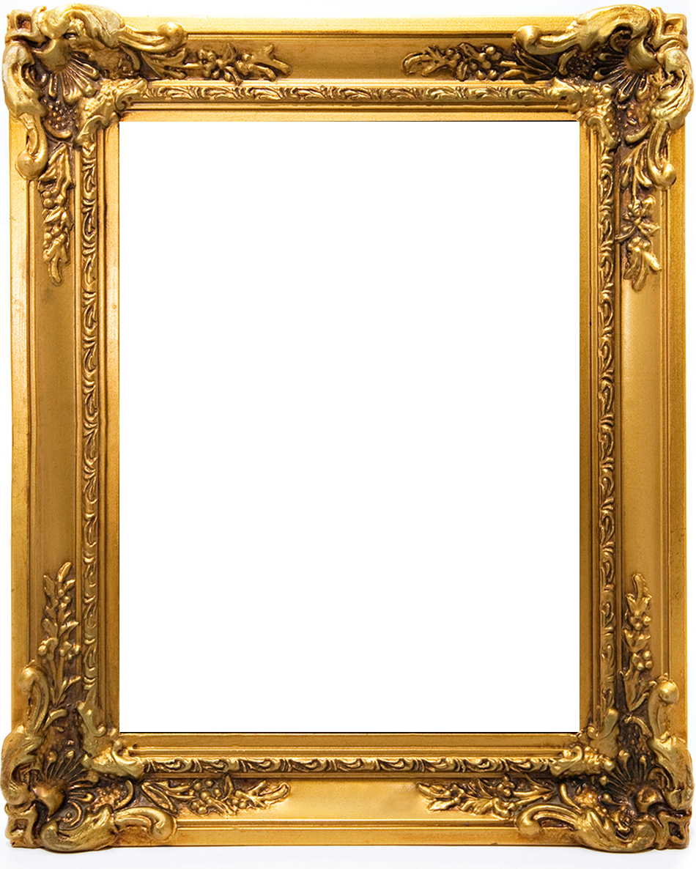 Gold Picture Frame Png : picture, frame, Frame, Picture, Template,, Frames,, Border, Design