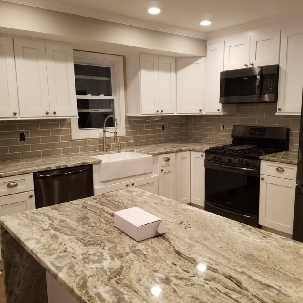 I Replaced My Old Cabinets With Beautiful White Shaker Cabinets