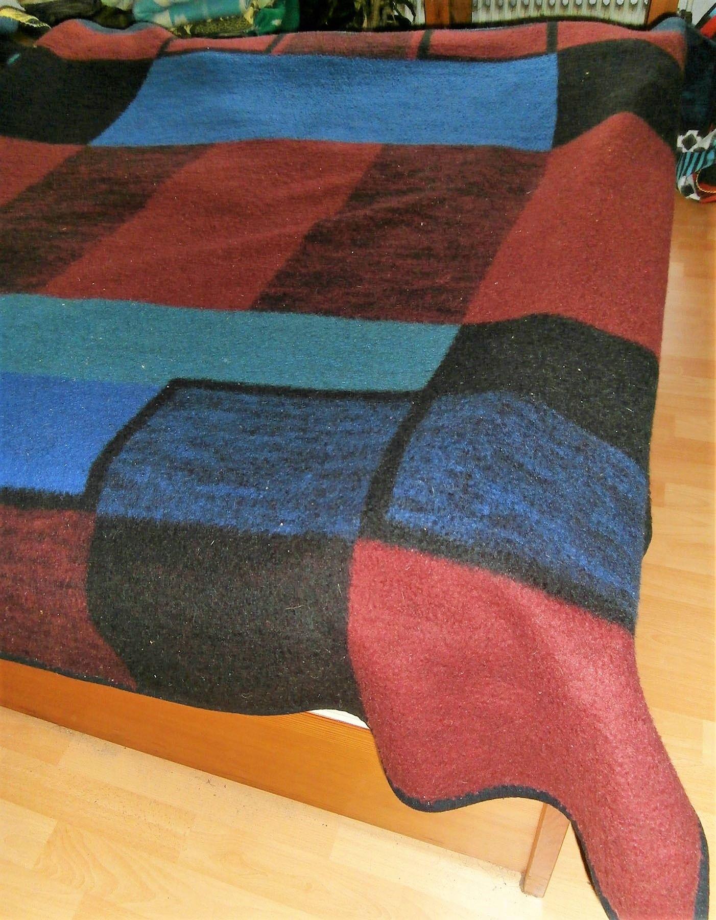 Carblanket Woolblanket Retroblankets Blanketmuseum Woolenblanket 50s 60s Campervan Oudedekens Vintageblanket Vintagedek Wolldecke Flauschig Deckchen
