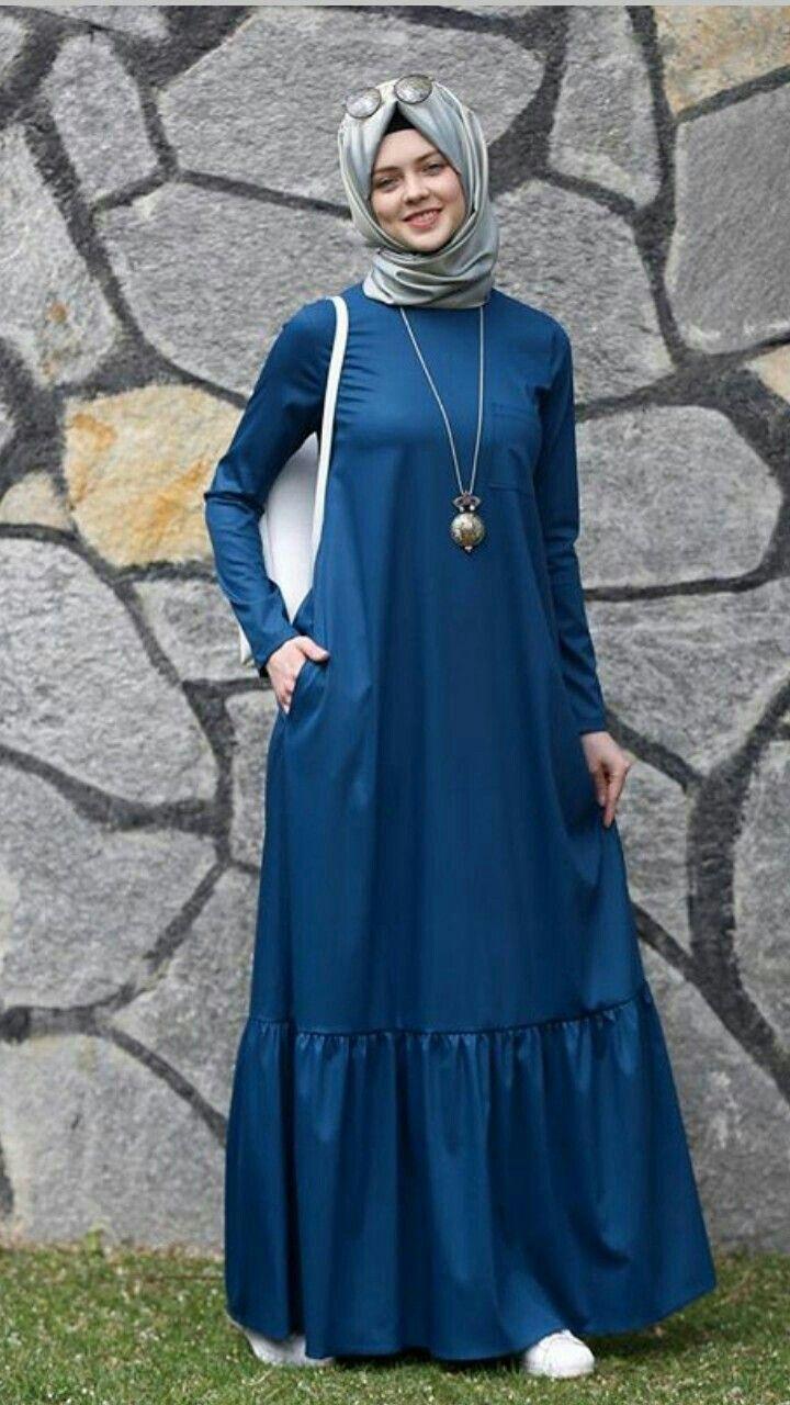 Pin By Ndari On Tesettur Elbise Muslimah Dress Muslim Fashion Dress Muslim Women Fashion