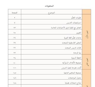 دليل المعلم لمبحث اللغة العربية للصف الثامن الفصلين الاول والثاني Blog Posts Blog Post