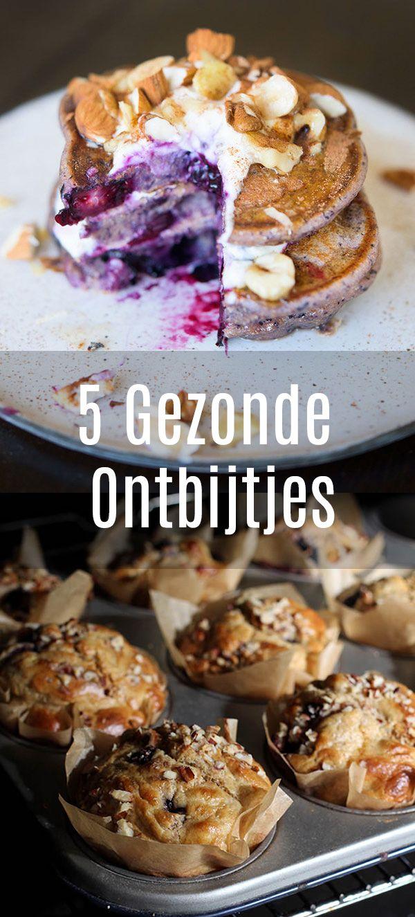 Vijf heerlijke gezonde ontbijtjes waarvan je écht niet proeft dat ze gezond zijn!