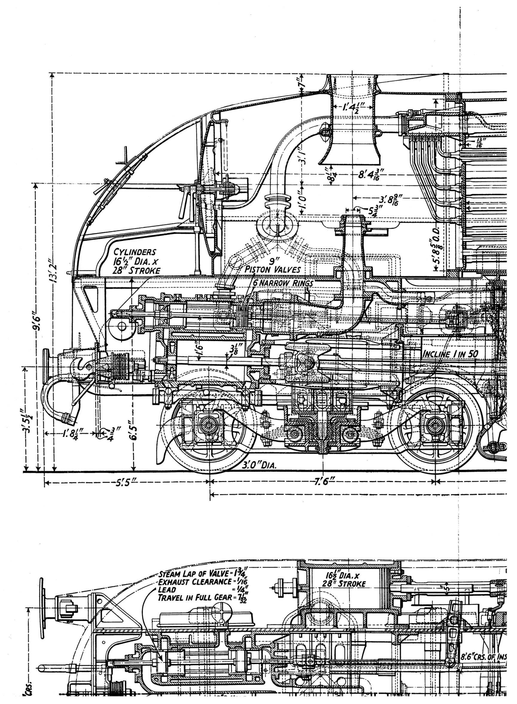 Coronation6220_blueprint_side_detail_nose.jpg (JPEG Image, 1728 × 2355  pixels) - Scaled (51