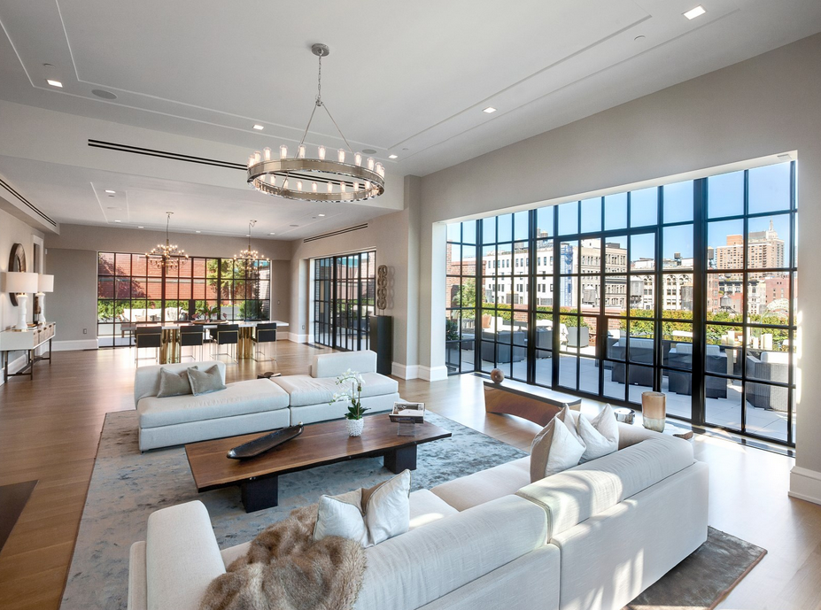 $66 million newly built duplex penthouse in new york, ny interior$66 million newly built duplex penthouse in new york, ny