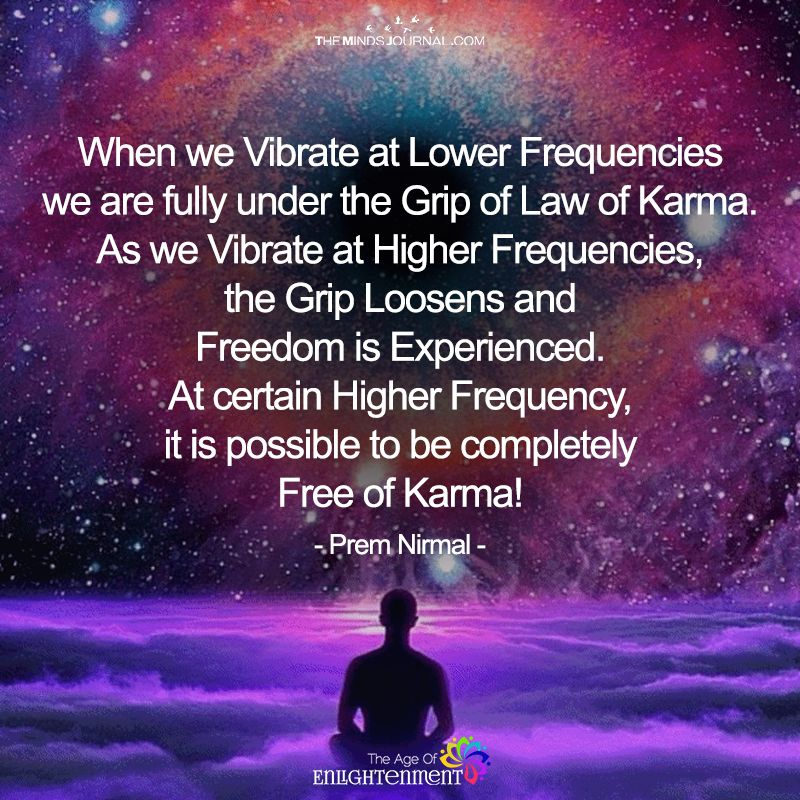 When We Vibrate At Lower Frequencies | Spiritual Seeker