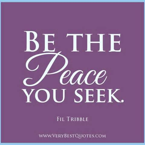 Quotes For Peace Peace Quotes Contentment Quotes Serenity Quotes