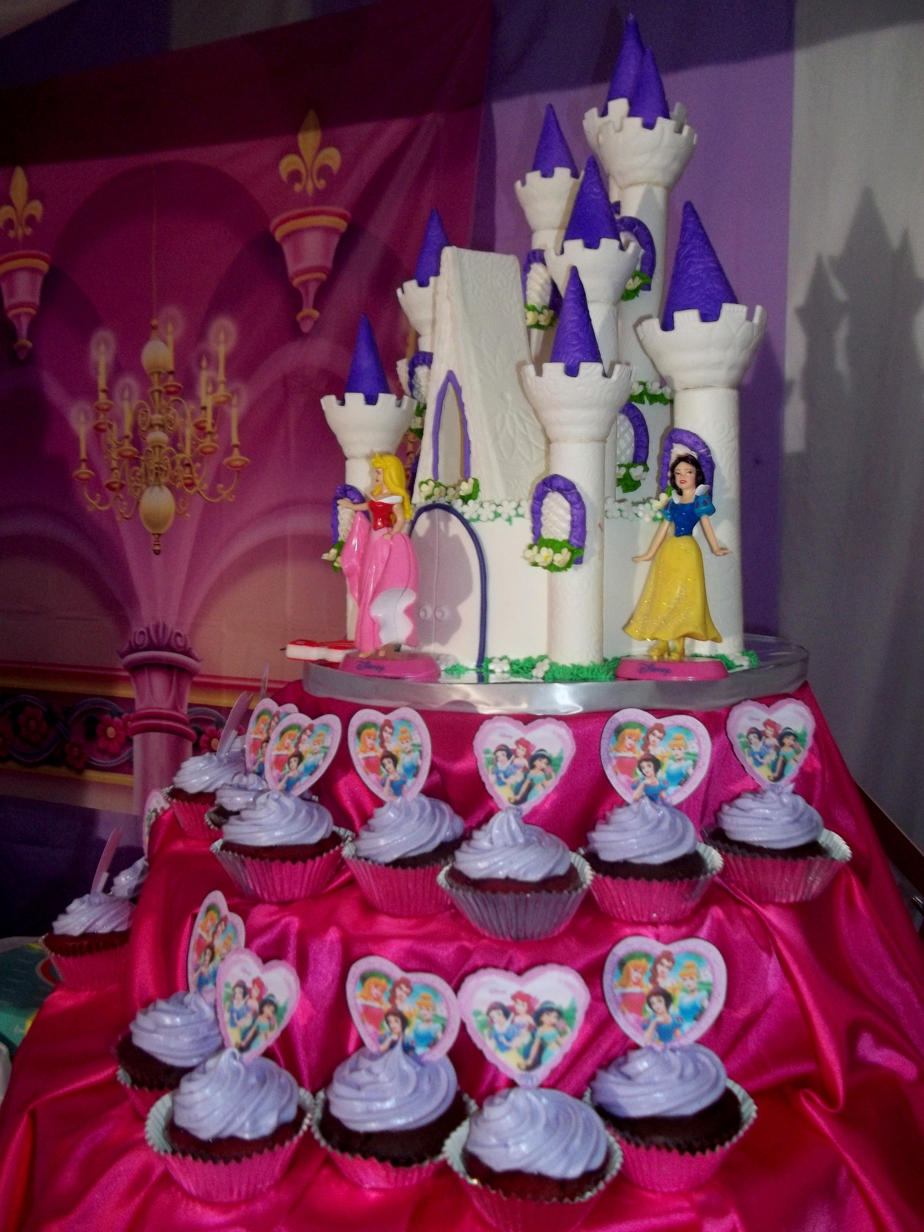Disney princess castle birthday cake Cake recipes for days