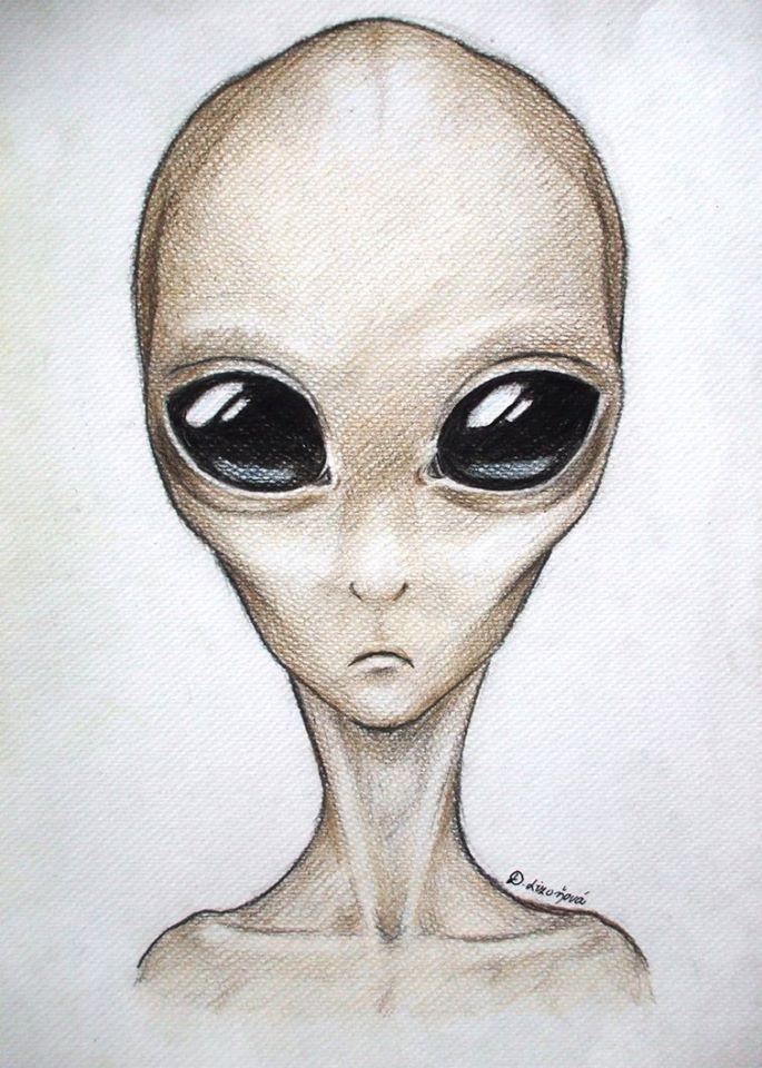 вероники обнаружился картинки инопланетян в карандашей думаете