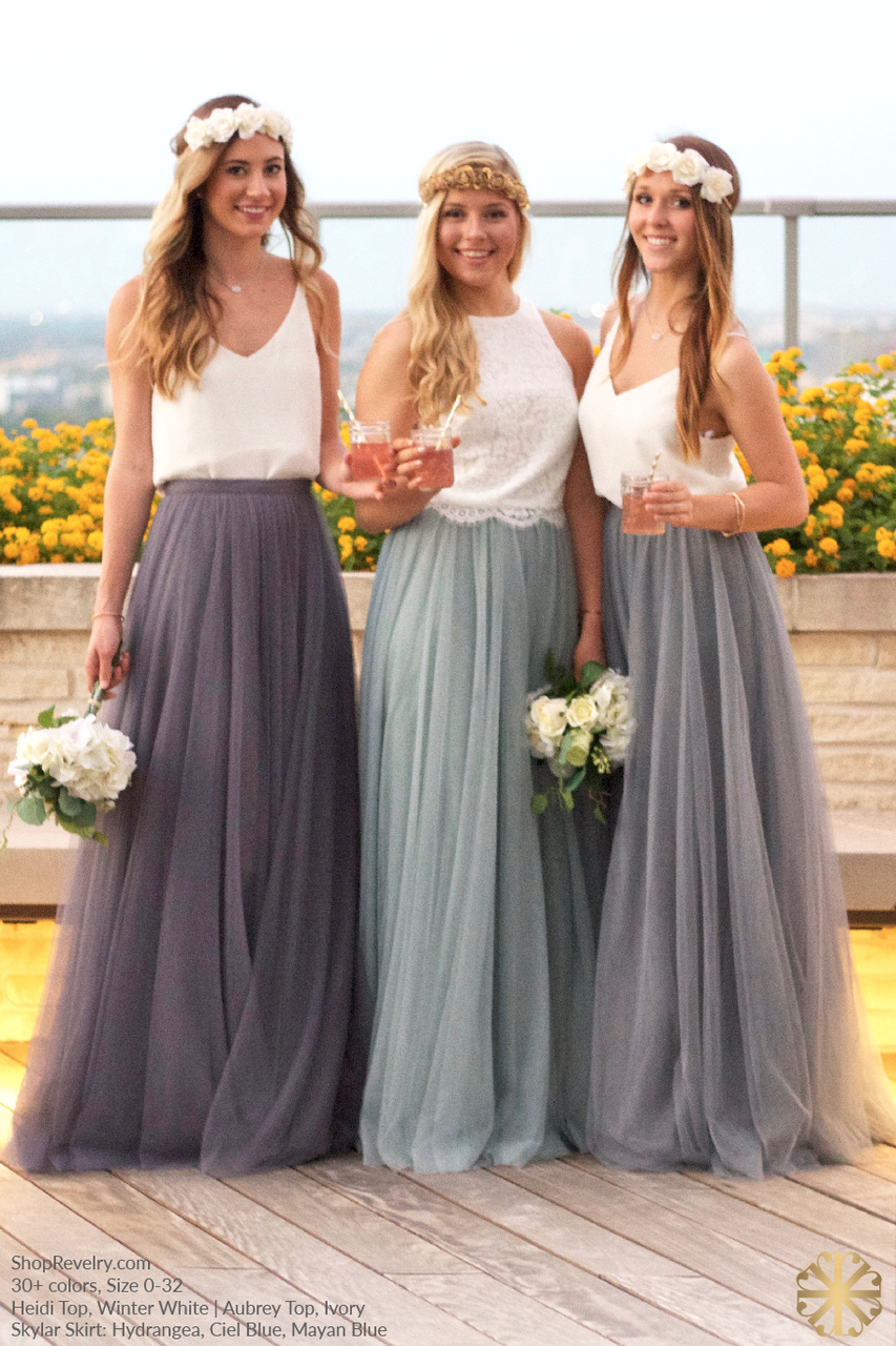 Bridesmaid separates from bhldn image via celebration society bridesmaid separates from bhldn image via celebration society bridesmaid dresses bouquets pinterest celebrations wedding and weddings ombrellifo Gallery