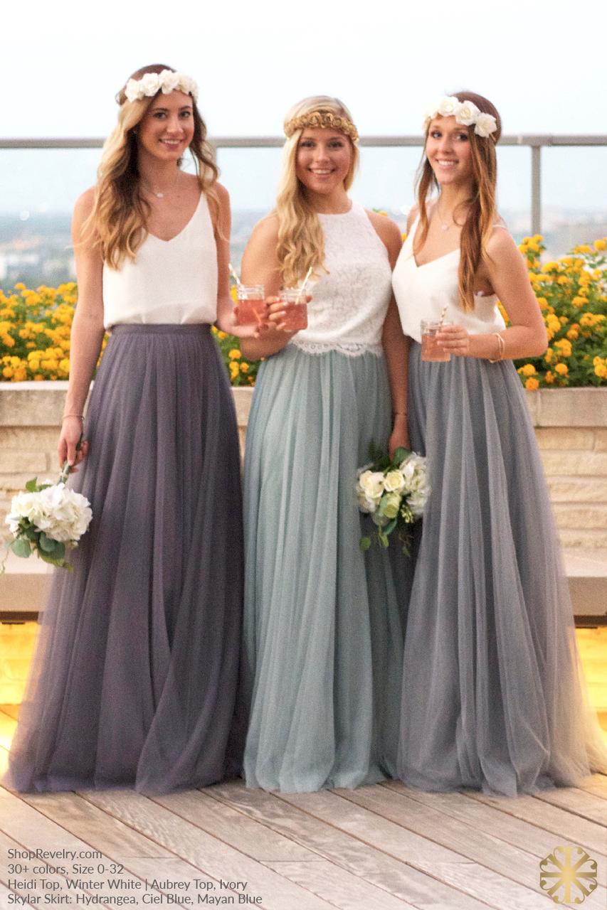 Wedding Tulle Skirt Bridesmaid Tulle Skirt Blush Tulle Skirt Bridal Tulle Skirt Bridesmaids skirt Tulle skirt Skirt Princess Skirt