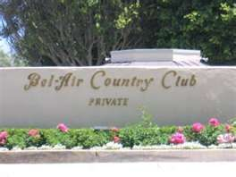 Bel Air Country Club - Los Angeles, CA
