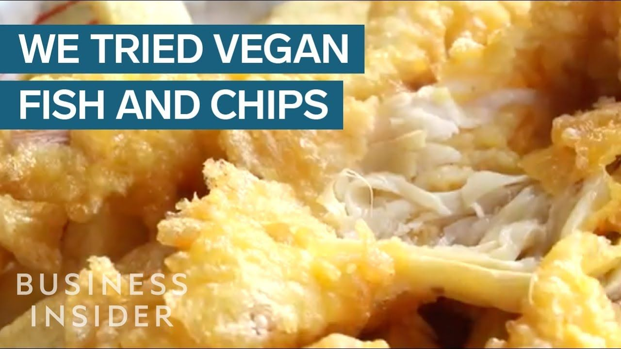 Vegan And Meat Eater Try Vegan Fish And Chips Youtube Vegan Fish And Chips Vegan Fish Fish And Chips