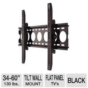 Interion Large Tilt Wall Mount For 34 60 Tvs By Interion Tv Mounts 59 99 The Interion I92 40937 Large Tilt Wa Wall Mounted Tv Mounted Tv Wall Mount Support