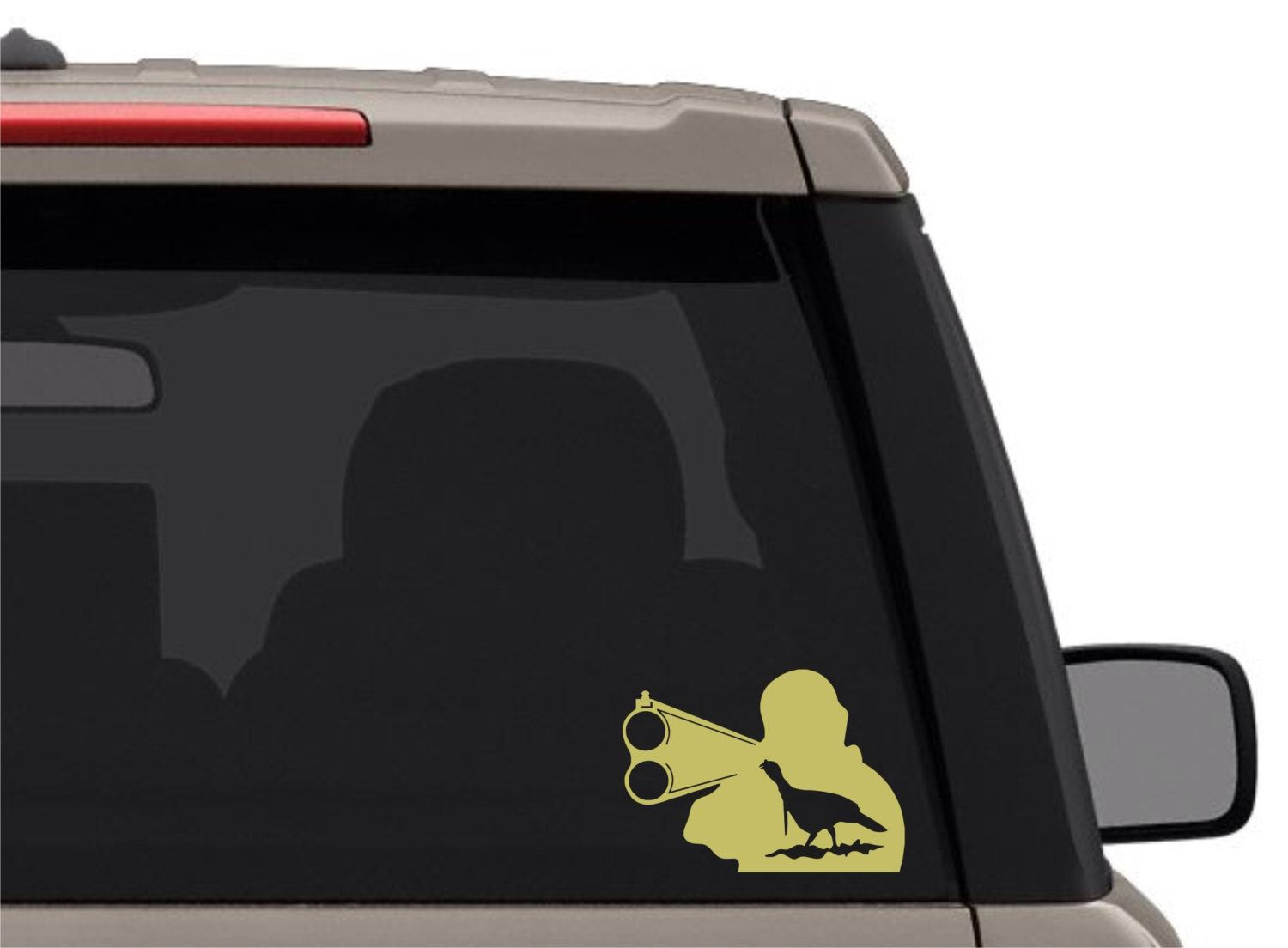 TURKEY HUNTING Vinyl Decal Graphic Sticker For Boatcartrucksuv - Rear window hunting decals for trucks
