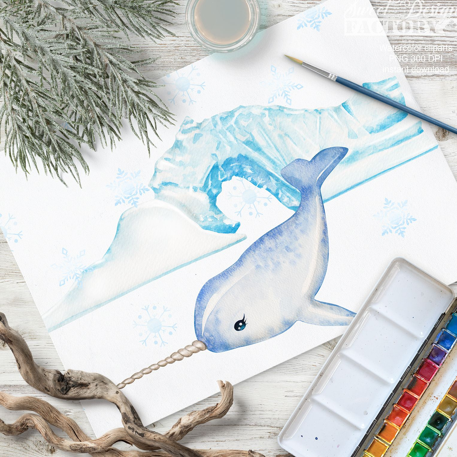 Clipart Arctique A L Aquarelle Animal Artique Animal Polaire