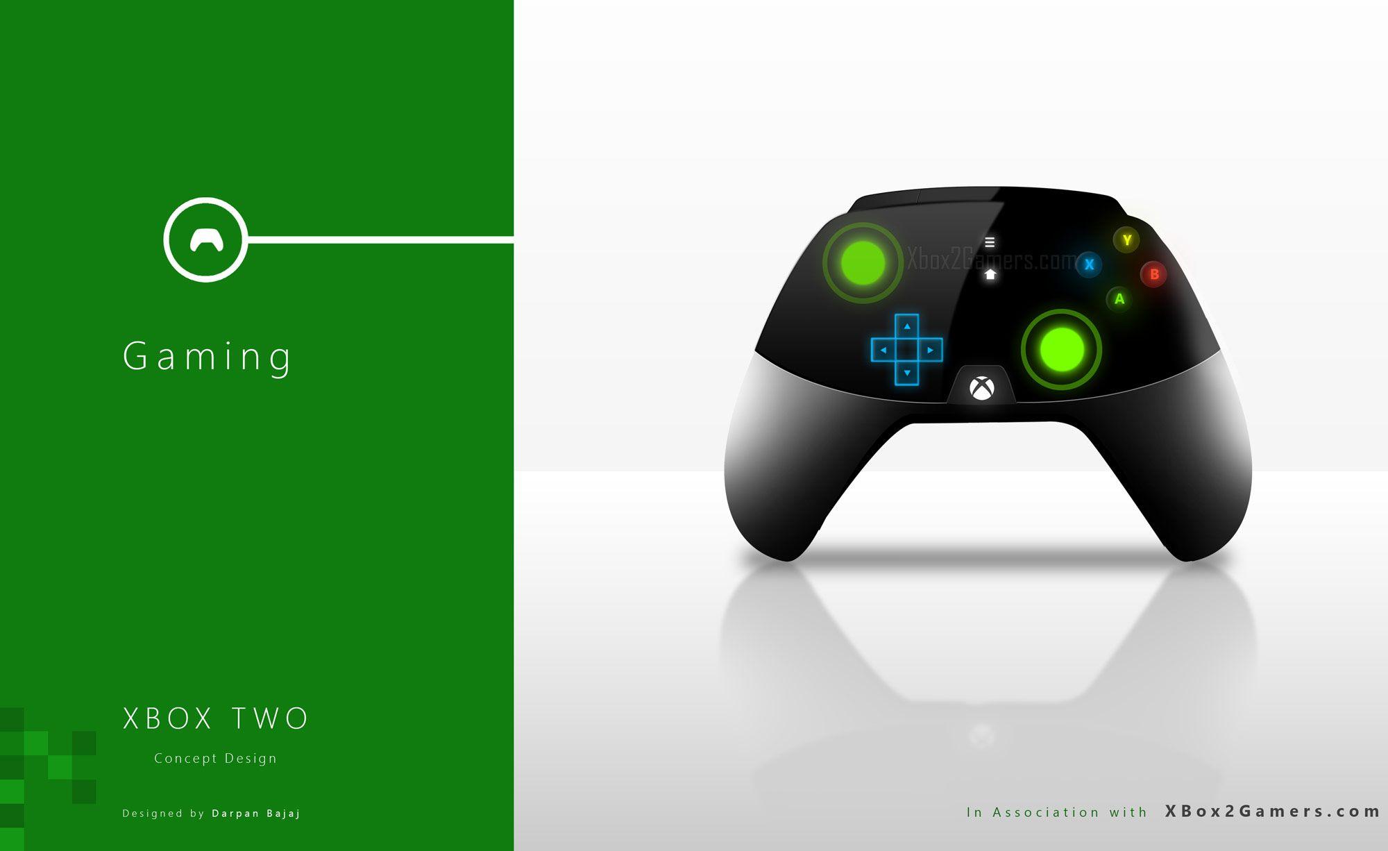XBox 2 Controller Gaming Xbox Xbox one ConceptXbox 2