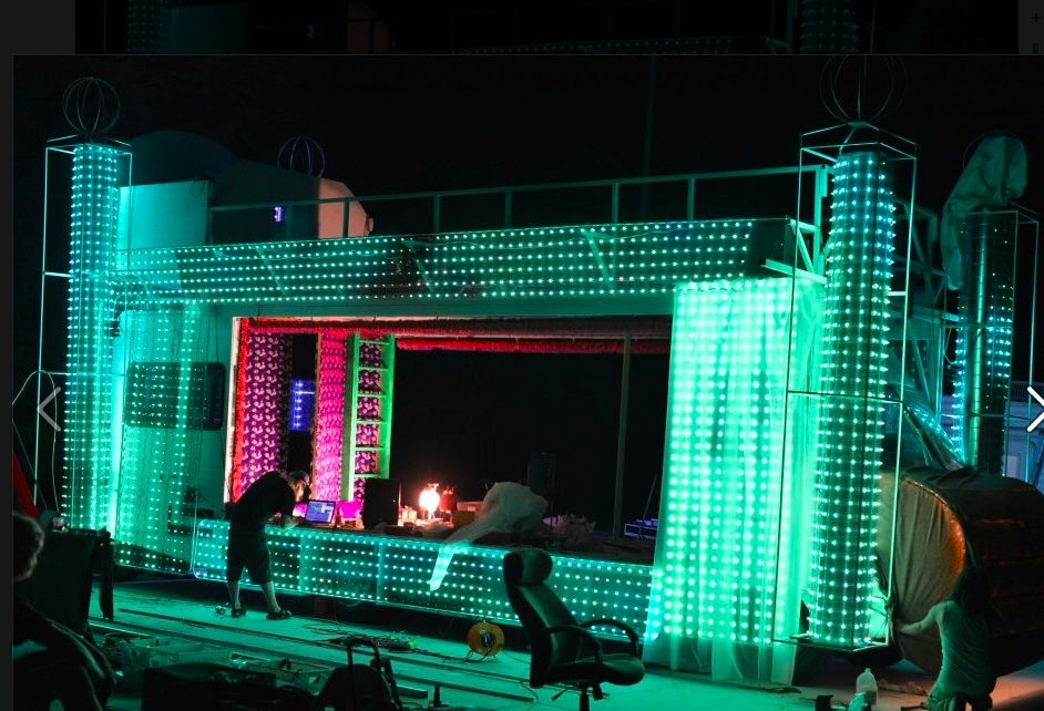 EL Wire Bump bed | Burning Man Fun | Pinterest | Bump beds, Bump and ...