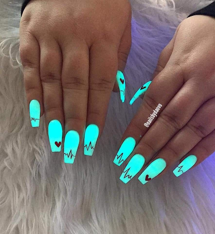 Pin By Mdd On Nail Designs Turquoise Nail Designs Coffin Nails Designs Turquoise Nails