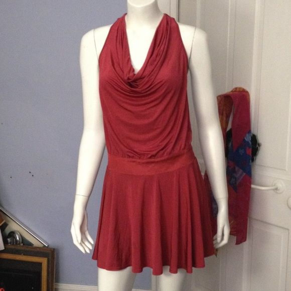 Bebe draped dress Bebe draped dress NWT bebe Dresses Midi