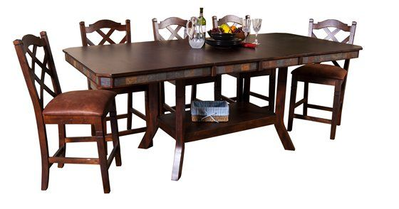 Santa Fe 5pc Pub Furniture Kane Furniture Dining Furniture