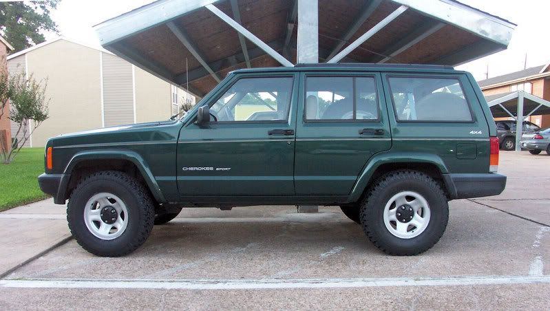 Fitting 31x10 5 Tires On 2 Lift Jeepforum Com Jeep Cherokee