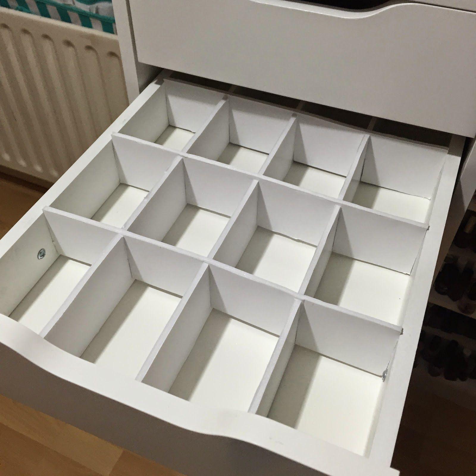 totalmakeupaddict makeup storage inspiration 1 drawer dividers feat ikea alex unit diy. Black Bedroom Furniture Sets. Home Design Ideas