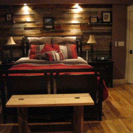 Best 25 Plank Wall Bedroom Ideas On Pinterest Diy Wood