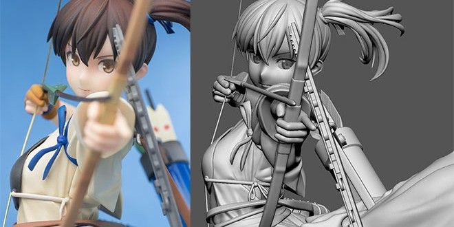Anime Characters Zbrush : Anime d art and wip by skaki cg moe pinterest