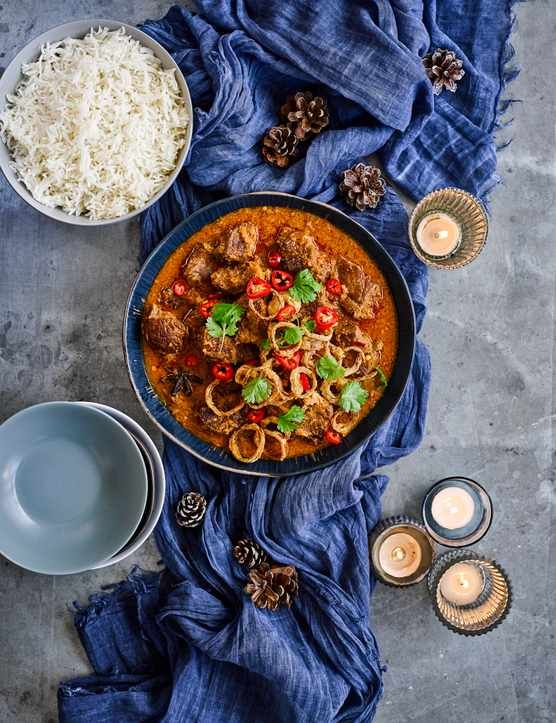 Beef Shin Rendang Recipe Curry Recipes Recipes Slow Cooked Beef
