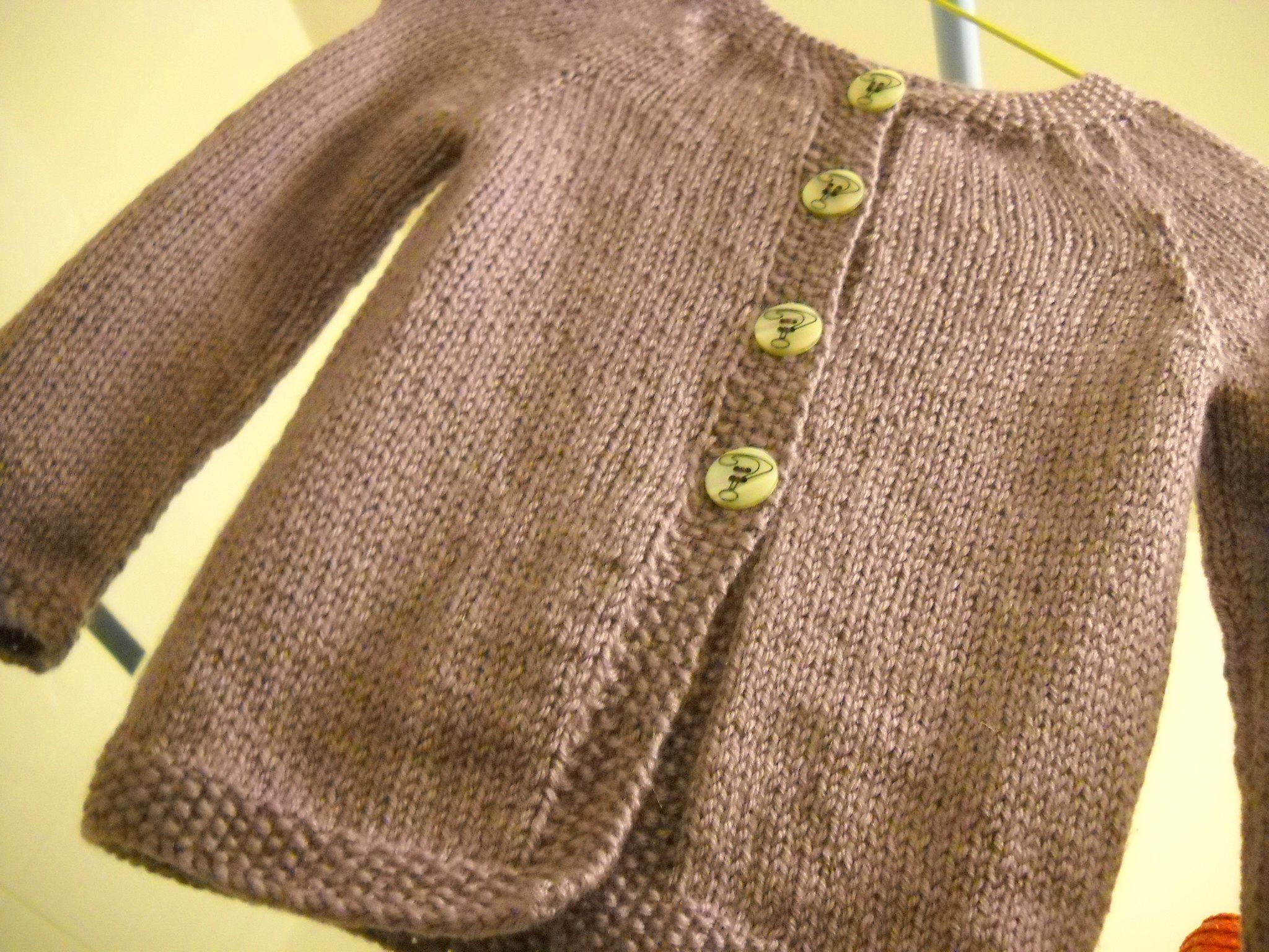 gilet tricot fille 6 ans