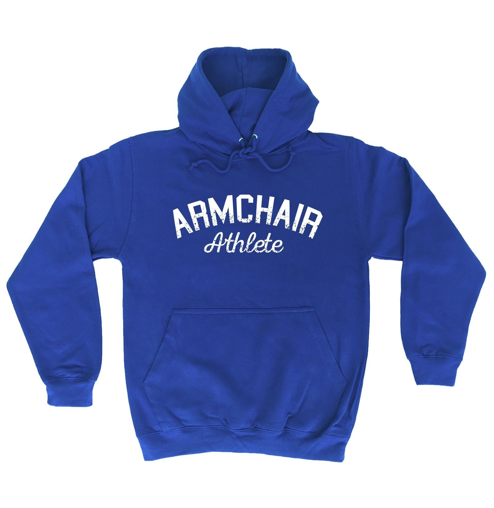 123t USA Armchair Athlete Funny Hoodie