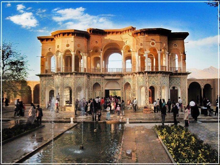Shazdeh Garden. Kerman. Iran.