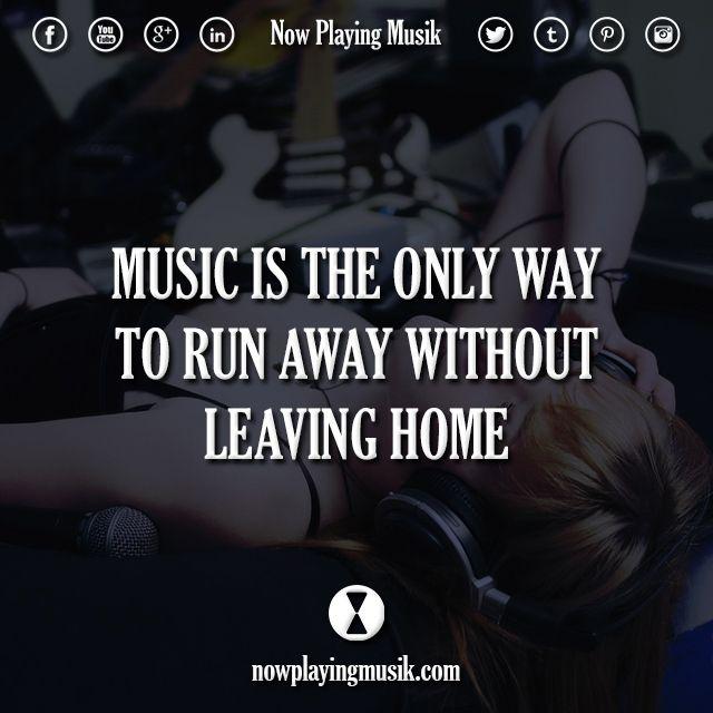 Musik zitiert über das Leben von Liedern
