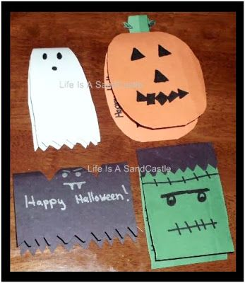 Life is a Sandcastle DIY Halloween Candy Treats Decorations #Candy - halloween diy crafts