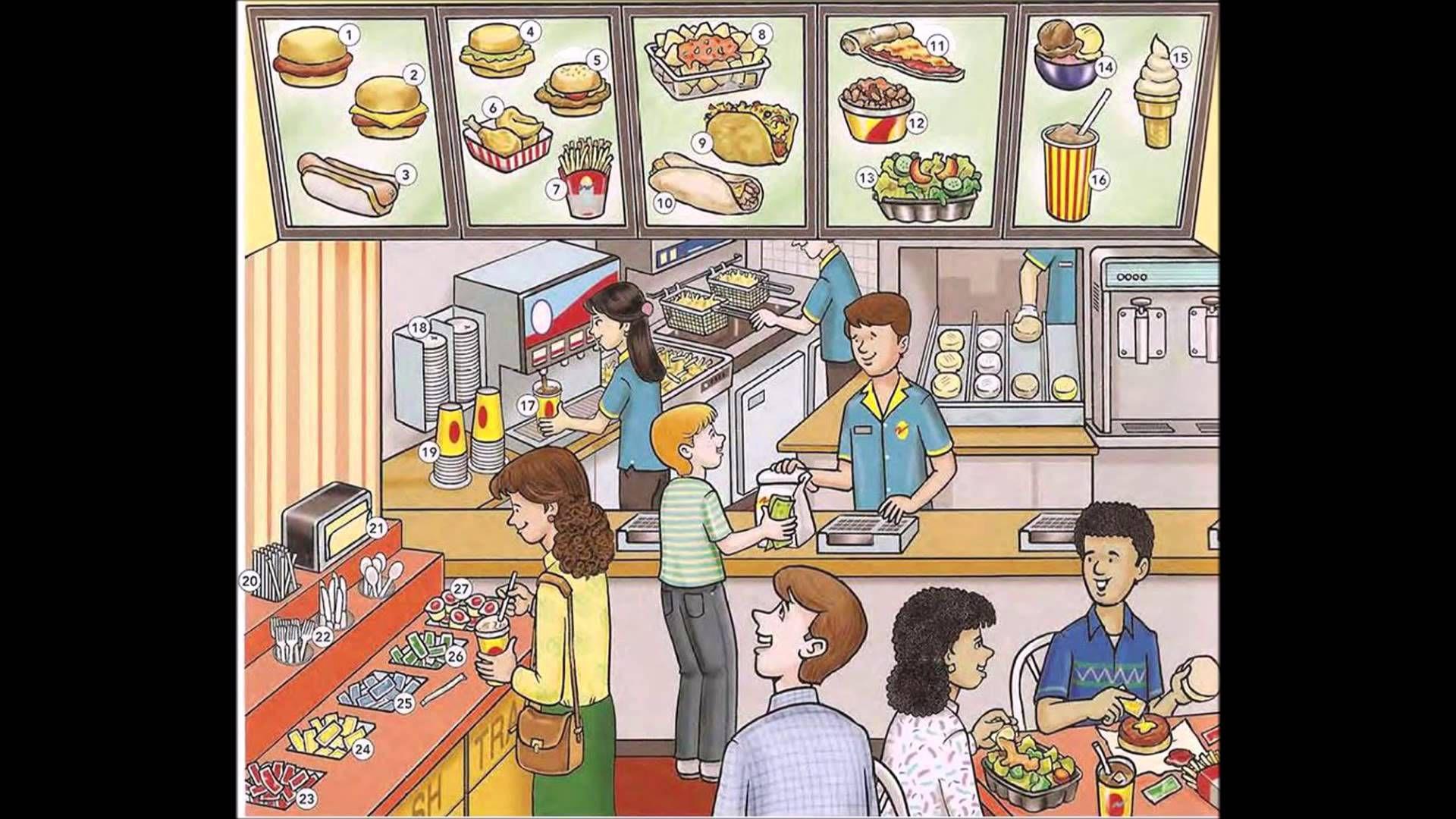 Fast Food Video English Lesson