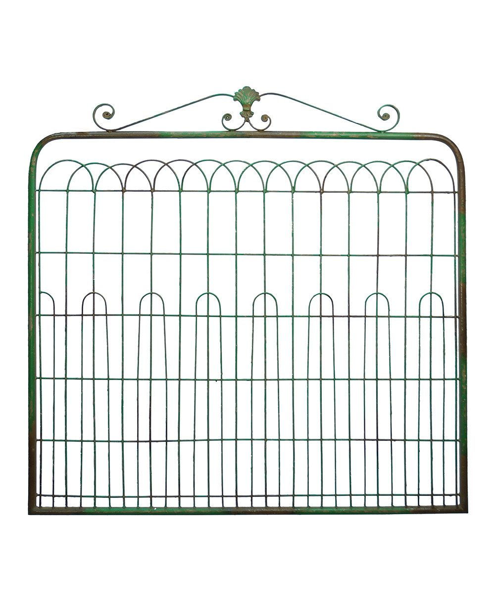 Look at this Light Dusting Open Garden Gate on #zulily today!
