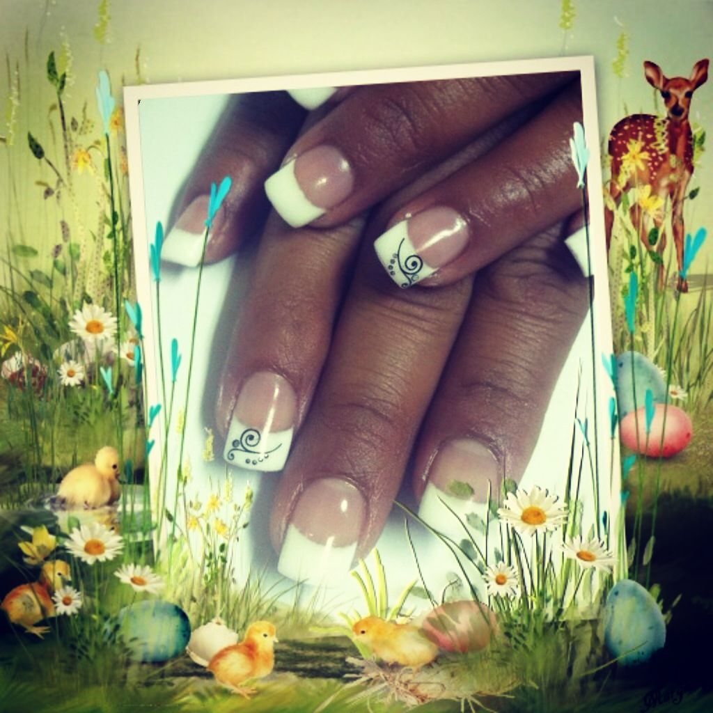 Nails by Alaih Young trained by Shannon Nielsen at Angel