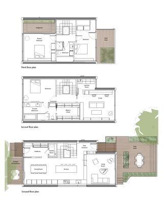 Skygarden House Courtyard House Plans Atrium House House Plans
